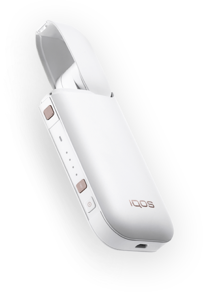 offener weisser IQOS Pocket Charger