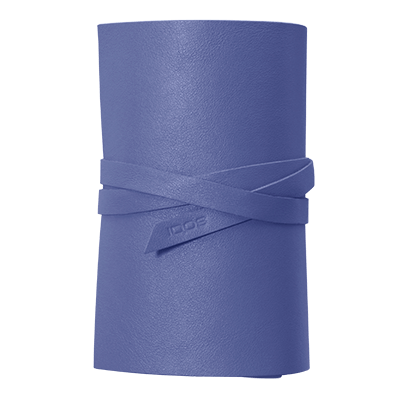 IQOS 2.4 Plus Astuccio in pelle Roll, Periwinkle, large