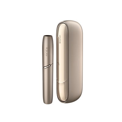 IQOS 3 DUO Kit, Brilliant Gold, large