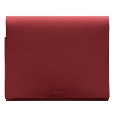 IQOS 2.4 Plus Pochette in Pelle Folio Medio, Red, large