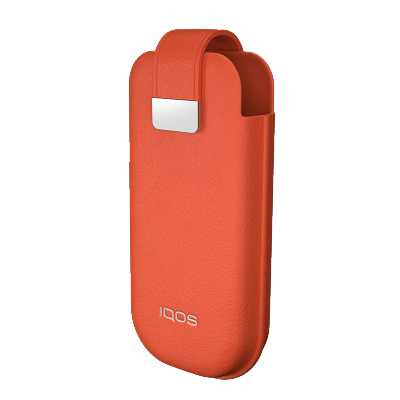 IQOS 2.4 Plus Leather Case, Tiger Lily, large