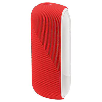 Custodia in silicone IQOS 3, Coral, large