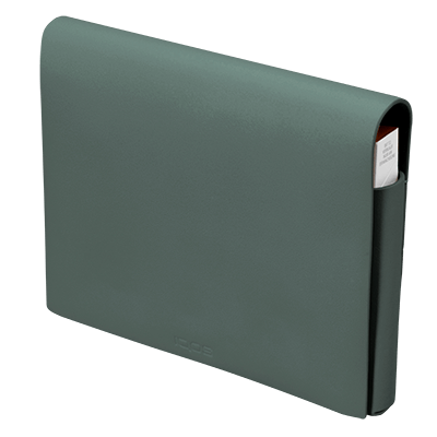 IQOS 2.4 Plus Pochette in Pelle Folio Medio, Green, large