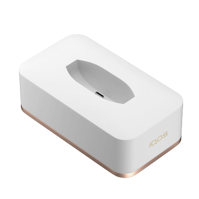 IQOS 2.4 Plus Single Charging Dock, Weiss, large