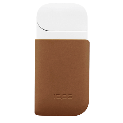 IQOS 2.4 Plus Lederclip, Brown, large