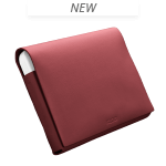 LEATHER FOLIO MEDIUM, Rouge, medium