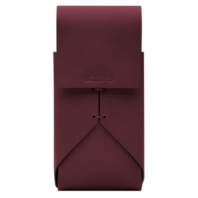 IQOS 2.4 Plus Astuccio in Pelle, Burgundy, large