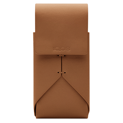 IQOS 2.4 Plus Leather Pouch, Brown, large