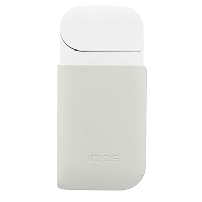 IQOS 2.4 Plus Leather Clip, Cream, large