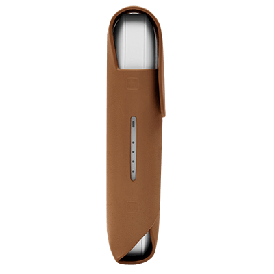 IQOS 2.4 Plus Lederhule, Brown, large