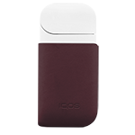 IQOS 2.4 Plus Leather Clip, Burgundy, medium