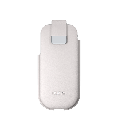 IQOS 2.4 Plus Ledertasche, White, large