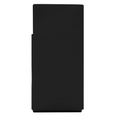 IQOS 2.4 Plus Lederhülse, Black, large
