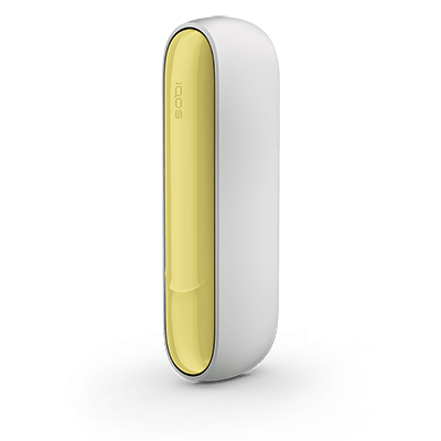 IQOS 3 Door Cover, Soft Yellow, large