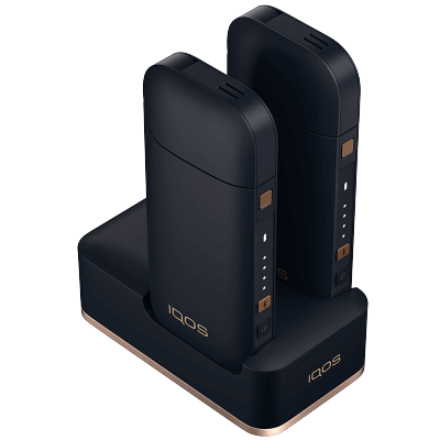 IQOS 2.4 Plus Double Charging Dock, Navy, large