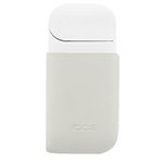 IQOS 2.4 Plus Leather Clip, Cream, medium