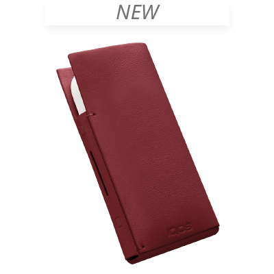 IQOS 2.4 Plus Lederhülse, Red, large