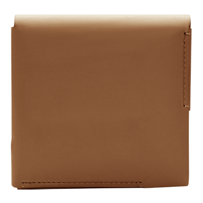 LEDER FOLIO KLEIN, Brown, large