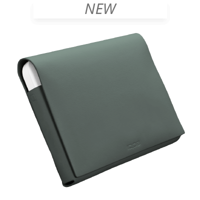 IQOS 2.4 Plus Leder Folio Medium, Green, large