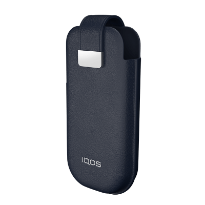 IQOS 2.4 Plus Leather Case, Navy, large