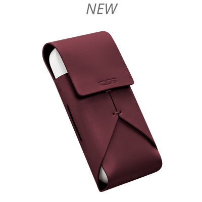 IQOS 2.4 Plus Lederhule, Burgundy, large
