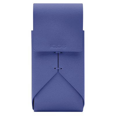 IQOS 2.4 Plus Astuccio in Pelle, Periwinkle, large