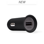 Car charger, Black, medium