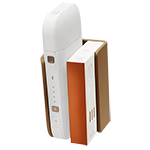 IQOS 2.4 Plus Lederclip, Brown, medium