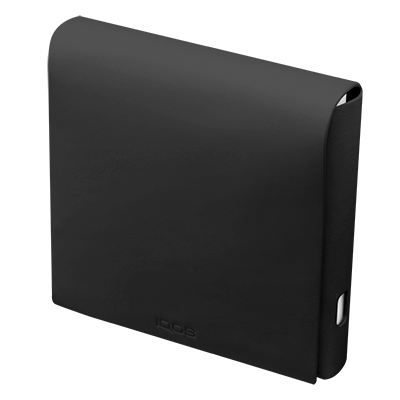 IQOS 2.4 Plus Leder Folio Small, Black, large