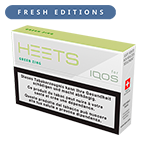 New HEETS Fresh Editions Paquets, Green Zing, medium