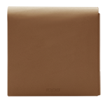 LEDER FOLIO KLEIN, Brown, medium