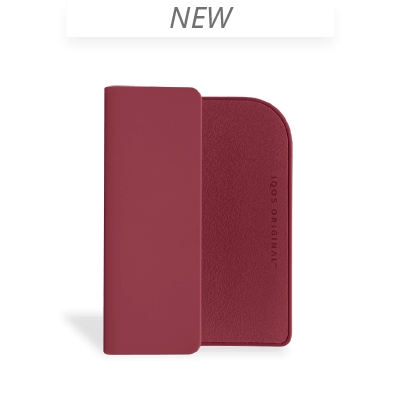 IQOS 2.4 Plus Colored Clip, Crimson, large