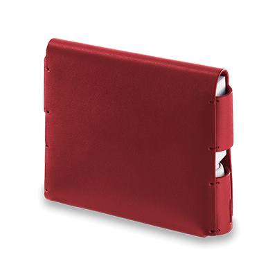 IQOS 3 Leder Folio, Deep Red, large