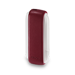 IQOS 3 Lederhülse, Deep Red, medium