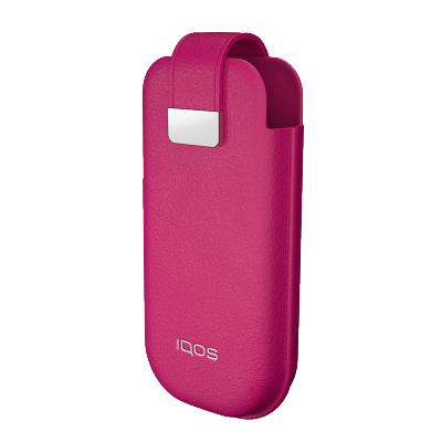 IQOS 2.4 Plus Leather Case, Hot Pink, large