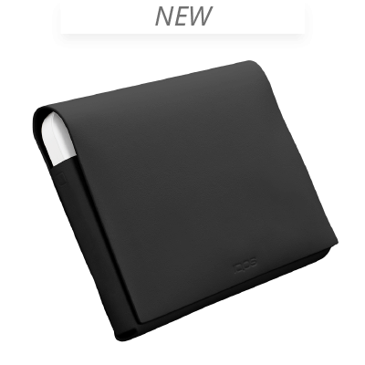 IQOS 2.4 Plus Leather Folio Medium, Black, large
